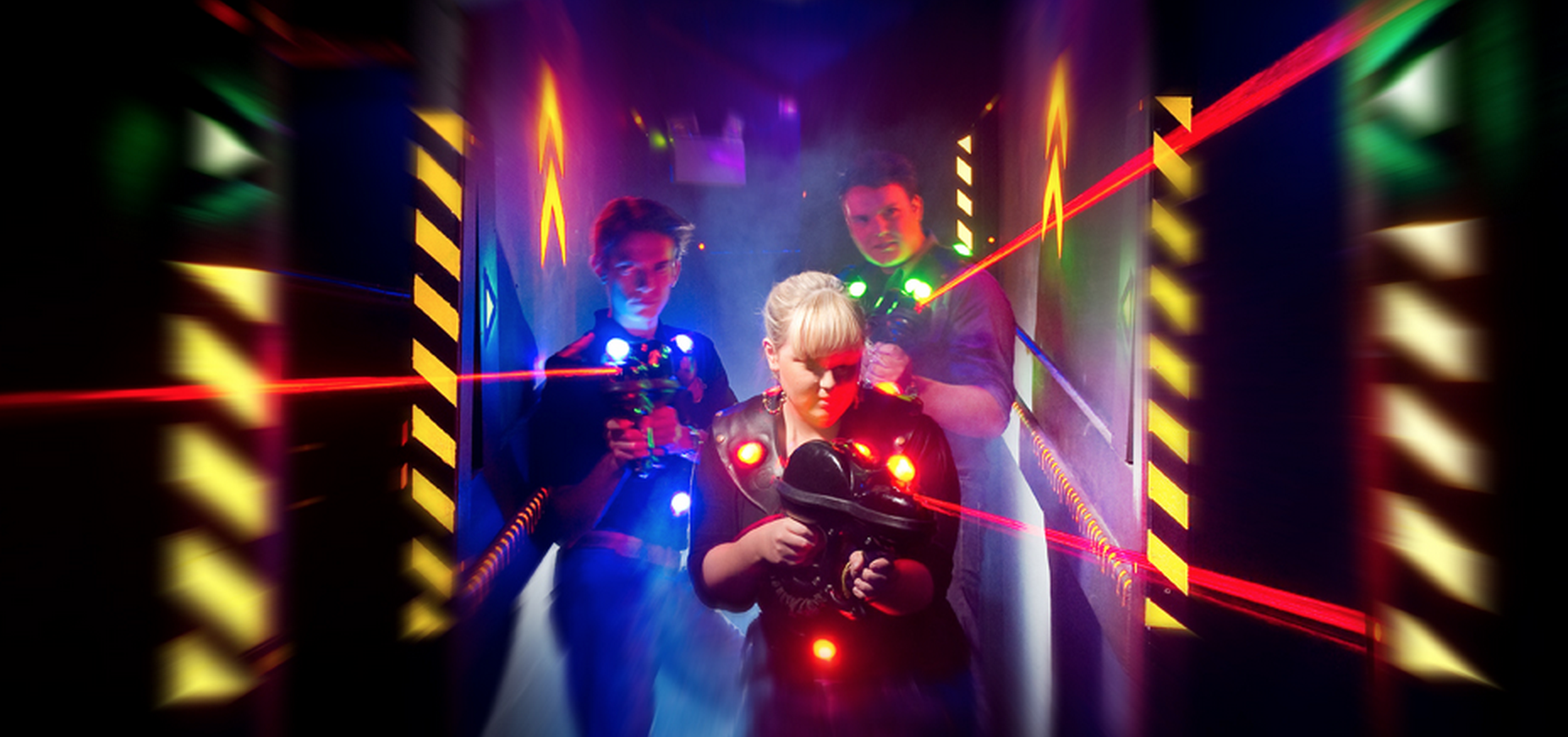 team building laser game